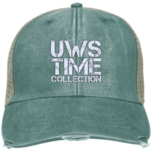 Load image into Gallery viewer, UWS TIME COLLECTION (white print) Adams Ollie Cap