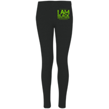 Load image into Gallery viewer, I AM BLACK EXCELLENCE #HowardMade  Boxercraft Women's Leggings
