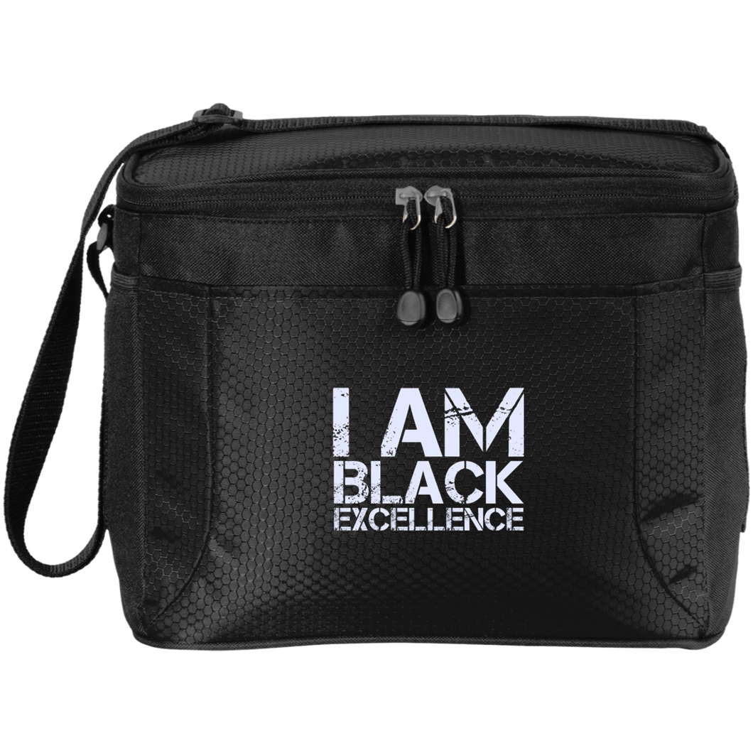 I AM BLACK EXCELLENCE 12-Pack Cooler