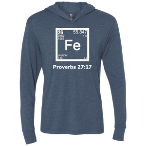 Fe-Proverbs1 Unisex Triblend LS Hooded T-Shirt