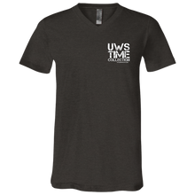 Load image into Gallery viewer, UWS TC LOGO Unisex Jersey SS V-Neck T-Shirt