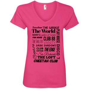 """You Know You're From NJ..."" Ladies' V-Neck T-Shirt"