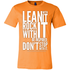 """Lean With It..."" Unisex Jersey Short-Sleeve T-Shirt"