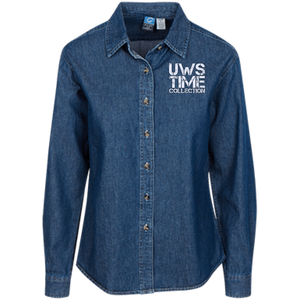 UWS TIME COLLECTION Ladies' LS Denim Shirt