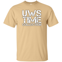 Load image into Gallery viewer, UWS Time Collection White print T-Shirt