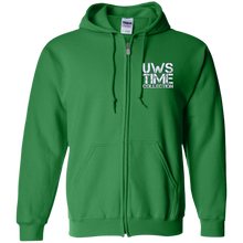 Load image into Gallery viewer, UWS TIME COLLECTION Zip Up Hooded Sweatshirt