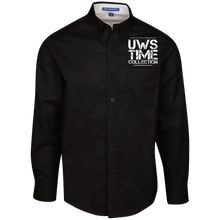 Load image into Gallery viewer, UWS TC  Men's LS Dress Shirt