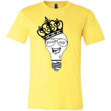 Load image into Gallery viewer, Genius Child (b/w grin) Unisex Jersey Short-Sleeve T-Shirt