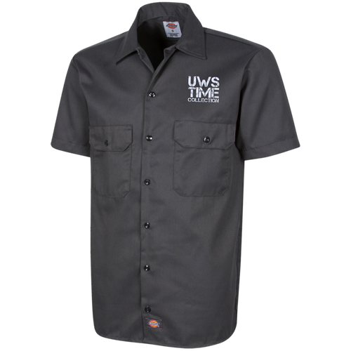 UWS TC LOGO Dickies Men's Short Sleeve Workshirt