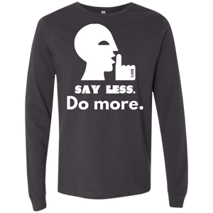 SAY LESS...  Men's Jersey LS T-Shirt