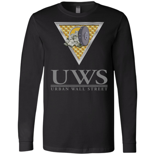 UWS LOGO Crew Bella + Canvas Men's Jersey LS T-Shirt