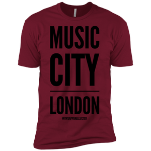 MUSIC CITY LONDON Premium Short Sleeve T-Shirt