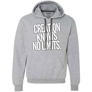 """Creation Knows No Limits"" Heavyweight Pullover Fleece Sweatshirt"