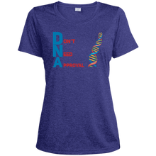 Load image into Gallery viewer, DNA - Don't Need Approval Ladies' Heather Dri-Fit Moisture-Wicking T-Shirt