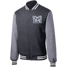 Load image into Gallery viewer, UWS TIME COLLECTION Men's Fleece Letterman Jacket