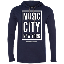 Load image into Gallery viewer, MUSIC CITY NEW YORK LS T-Shirt Hoodie