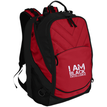 Load image into Gallery viewer, I AM BLACK EXCELLENCE Laptop Computer Backpack