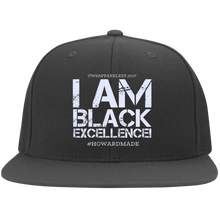 Load image into Gallery viewer, I AM BLACK EXCELLENCE Flat Bill Twill Flexfit Cap