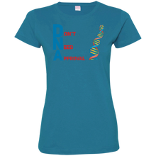 Load image into Gallery viewer, DNA - Don't Need Approval Ladies' Fine Jersey T-Shirt