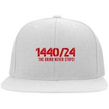 Load image into Gallery viewer, 1440/24 TGNS (Red print) Flat Bill Twill Flexfit Cap