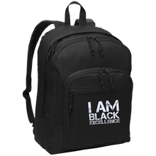 Load image into Gallery viewer, I AM BLACK EXCELLENCE Basic Backpack