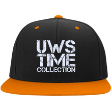 Load image into Gallery viewer, UWS TIME COLLECTION Flat Bill High-Profile Snapback Hat