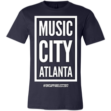 Load image into Gallery viewer, MUSIC CITY ATLANTA Unisex Jersey Short-Sleeve T-Shirt