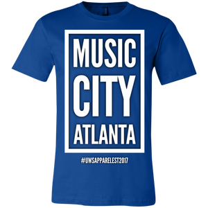 MUSIC CITY ATLANTA Unisex Jersey Short-Sleeve T-Shirt