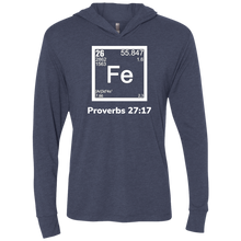Load image into Gallery viewer, Fe-Proverbs1 Unisex Triblend LS Hooded T-Shirt