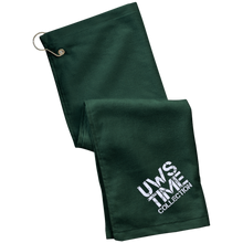 Load image into Gallery viewer, UWS TC LOGO Port Authority Grommeted Golf Towel