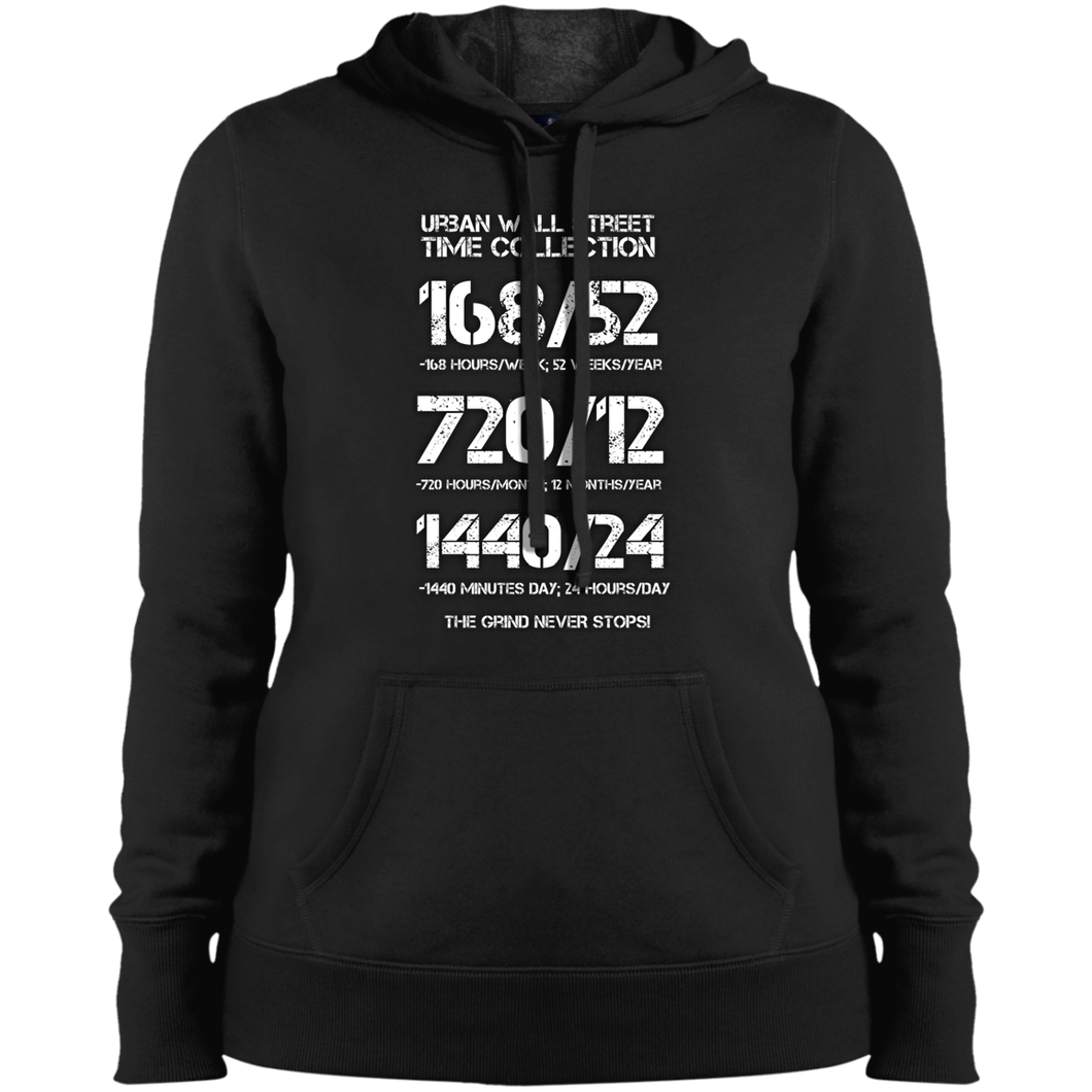 UWS TIME COLLECTION Ladies' Pullover Hooded Sweatshirt