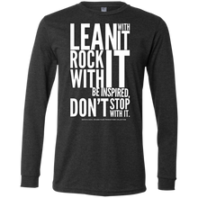 "Load image into Gallery viewer, ""Lean With It...""  Men's Jersey LS T-Shirt"