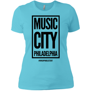 MUSIC CITY PHILADELPHIA Ladies' Boyfriend T-Shirt