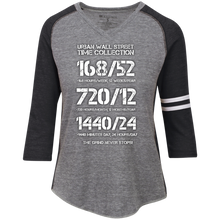 Load image into Gallery viewer, UWS Time Collection Ladies' Vintage V-Neck T-Shirt