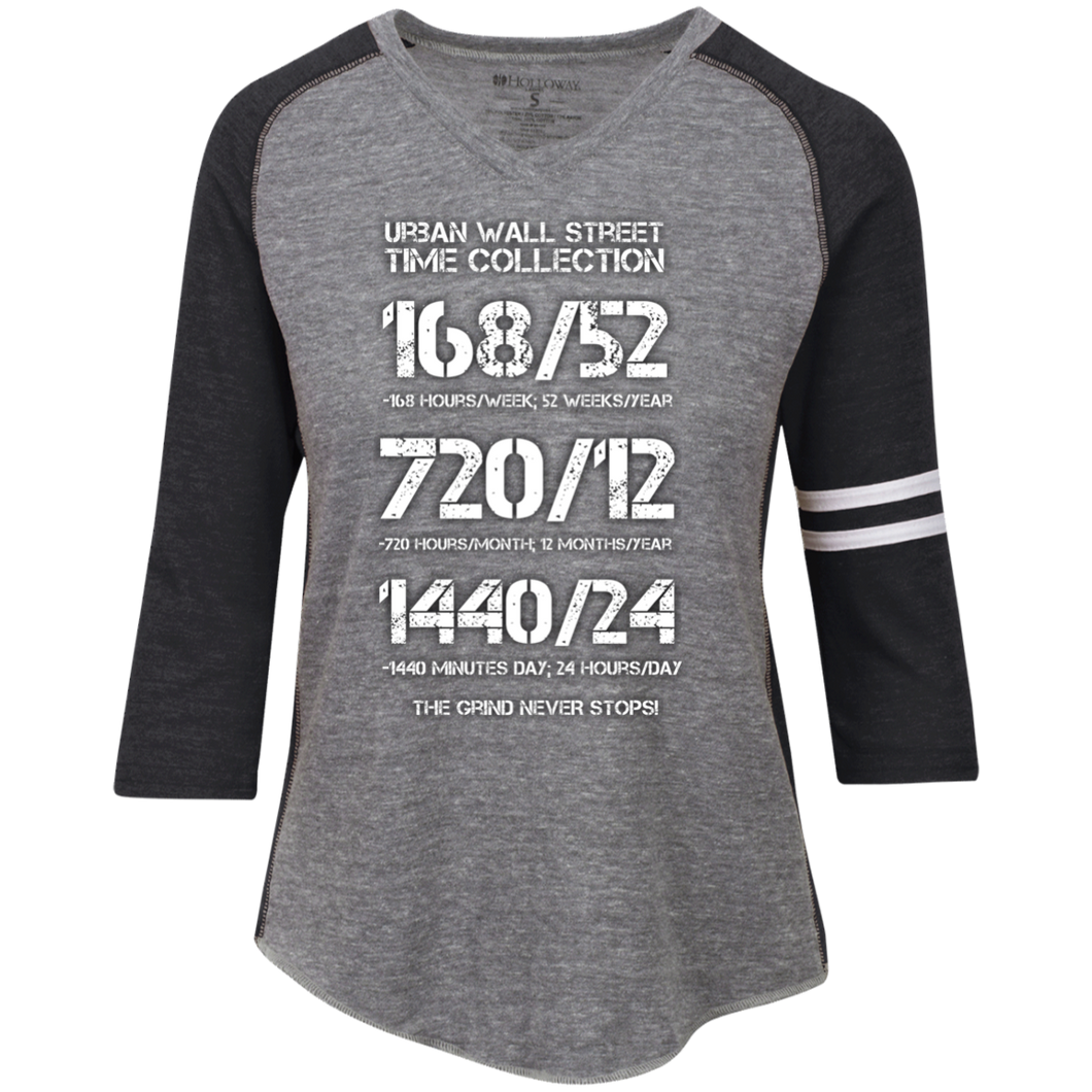 UWS Time Collection Ladies' Vintage V-Neck T-Shirt