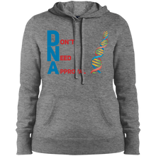 Load image into Gallery viewer, DNA - Don't Need Approval Ladies' Pullover Hooded Sweatshirt