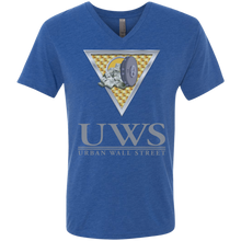 Load image into Gallery viewer, UWS LOGO Crew Next Level Men's Triblend V-Neck T-Shirt