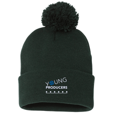 Load image into Gallery viewer, YOUNG PRODUCERS Pom Pom Knit Cap