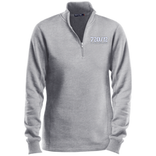 Load image into Gallery viewer, 720/12 TGNS! (White print) Sport-Tek Ladies' 1/4 Zip Sweatshirt
