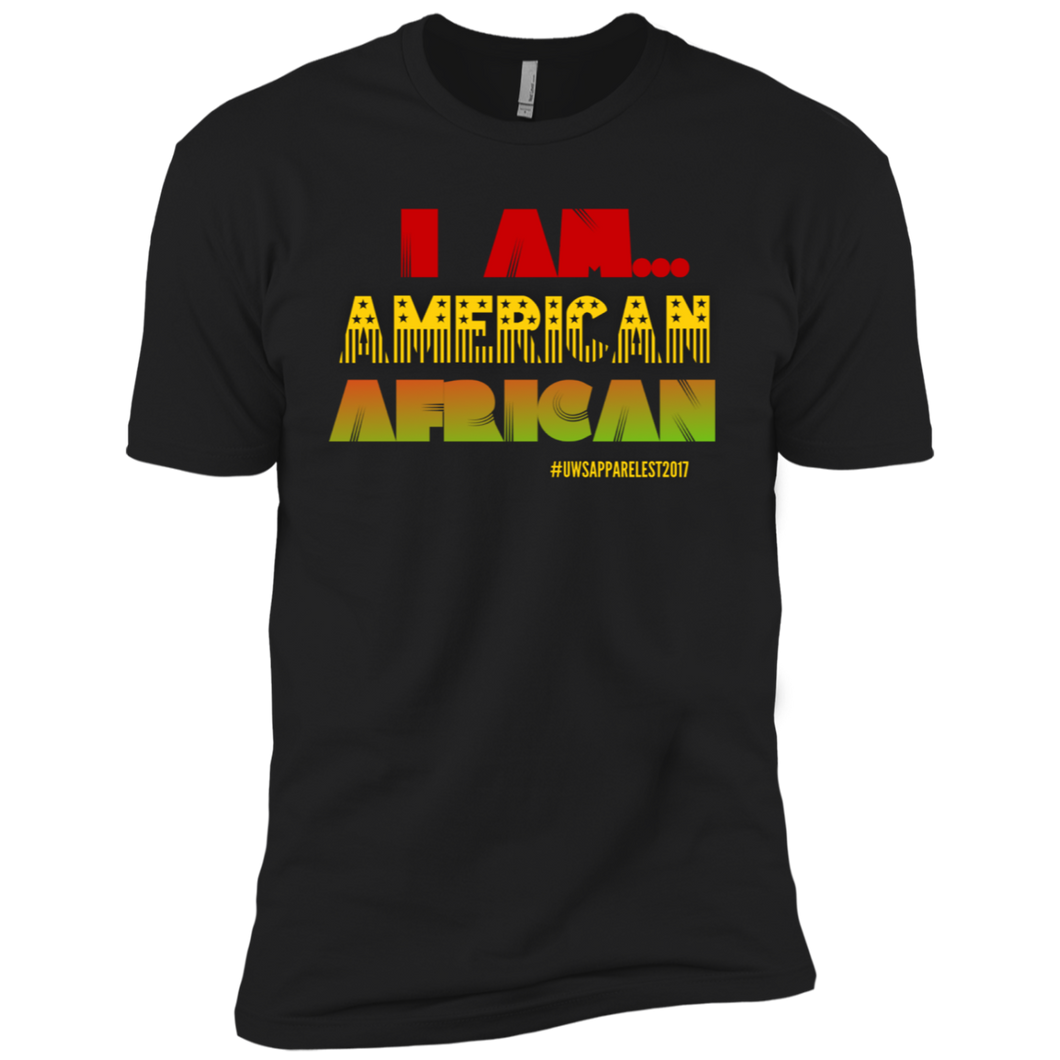 I AM AMERICAN AFRICAN Premium Short Sleeve T-Shirt