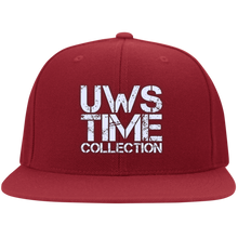 Load image into Gallery viewer, UWS TIME COLLECTION (solid colors) Flat Bill Twill Flexfit Cap