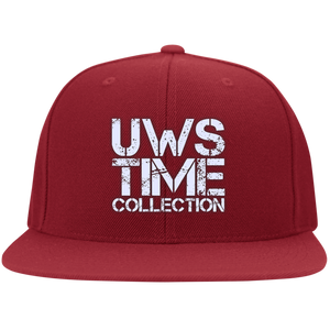 UWS TIME COLLECTION (solid colors) Flat Bill Twill Flexfit Cap