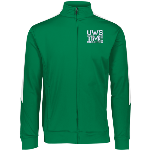 UWS TIME COLLECTION Augusta Performance Colorblock Full Zip (GREEN)