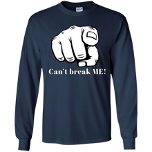 Load image into Gallery viewer, YOU CAN'T BREAK ME Youth LS T-Shirt