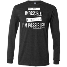 Load image into Gallery viewer, ....I'M POSSIBLE Men's Jersey LS T-Shirt