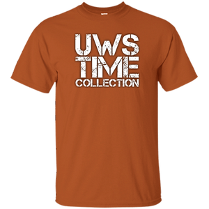 UWS Time Collection White print T-Shirt