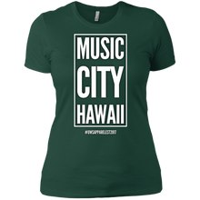 Load image into Gallery viewer, MUSIC CITY HAWAII Ladies' Boyfriend T-Shirt