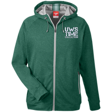 Load image into Gallery viewer, UWS TIME COLLECTION Men's Heathered Performance Hooded Jacket