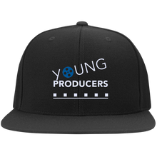 Load image into Gallery viewer, YOUNG PRODUCERS Flat Bill Twill Flexfit Cap