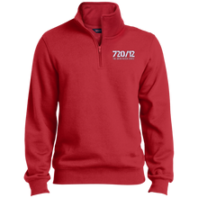 Load image into Gallery viewer, 720/12 TGNS! (White Print) Sport-Tek 1/4 Zip Sweatshirt